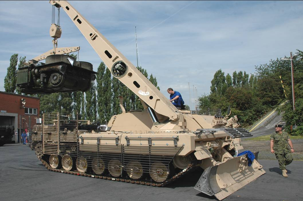 Rheinmetall Canada Vehicle Integration